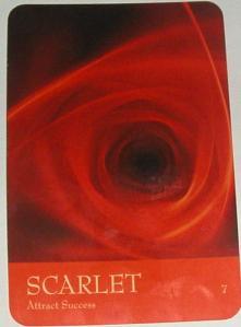Scarlet card