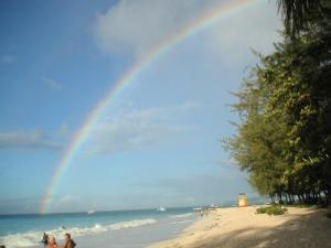 Rainbow on Miami Beach, Barbados