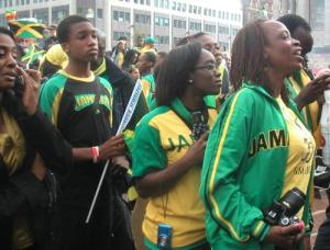 Last year's Jamaican independence celebrations