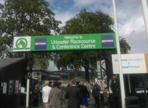 Entrance to Utoxeter Race Course