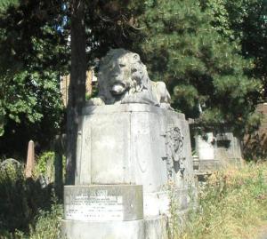 Graves at Brompton Cemetry