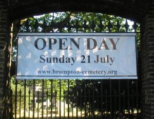 Open Day at Brompton Cemetery