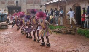Juju dancers