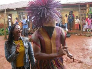 Dancing with the juju man