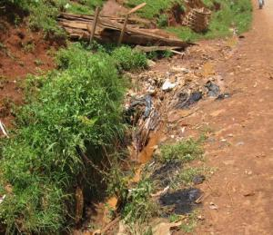 Inadequate waste disposal in Kumbo