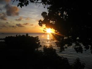 Barbadian sunset