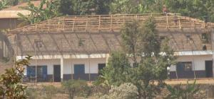 Self Reliance School in Kumbo Cameroon  -waiting for the zinc