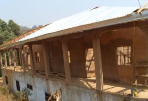 Roofing has begun