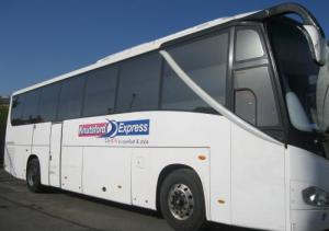 Very comfortable Knutsford Express coach
