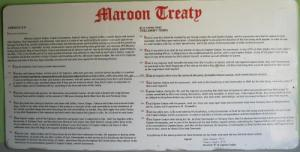 Maroon Peace Treaty
