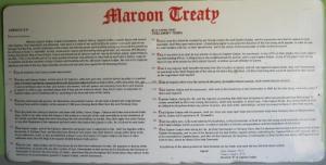 Maroon Peace Treaty