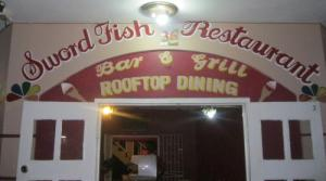 Sword Fish Restaurant not far from Rick's Cafe. Try the lobster and shrimp dish Yum! Yum.