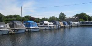 Boats on the Lancaster Canal
