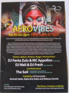 Afrovibes party night